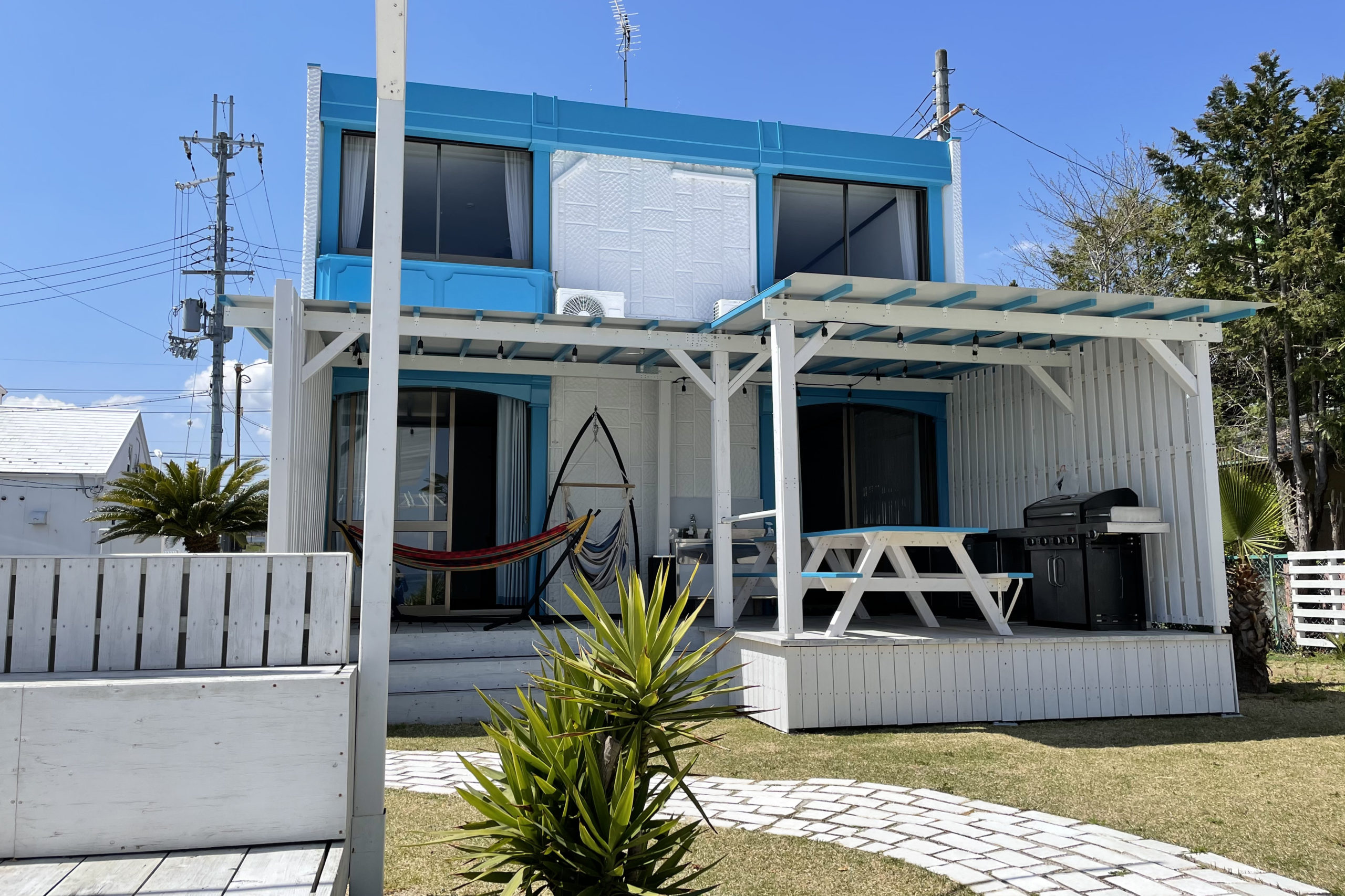BEACH HOUSE WANIの外観