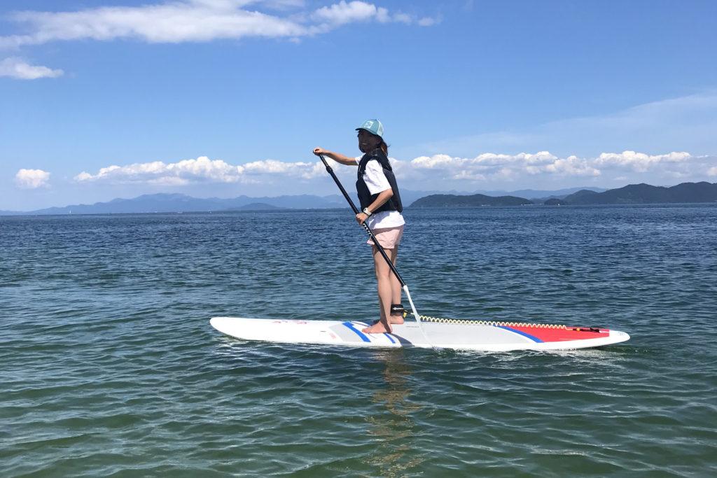 琵琶湖SUP