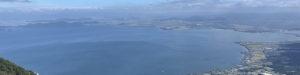 打見山頂からの琵琶湖
