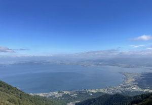 びわ湖バレイからの琵琶湖