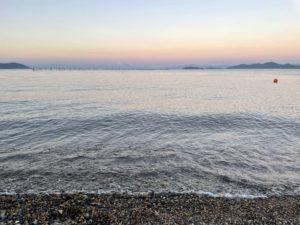 琵琶湖のマジックアワー