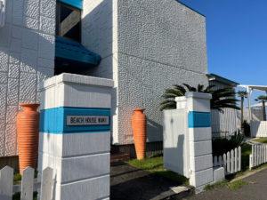 ビーチハウスワニ玄関