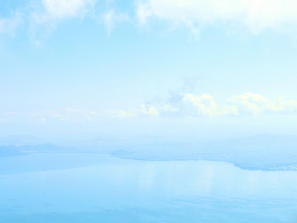 高所からの琵琶湖